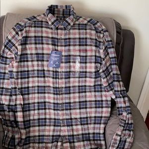 Brand new men's size L long sleeve flannel